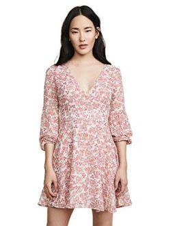 Women's Sunday Brunch Printed Chiffon Dress
