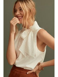 Maeve Bow-Tie Blouse