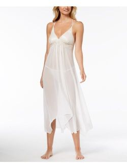 Linea Donatella Keepsake Lace-Trim Chemise Nightgown