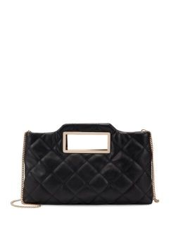 INC International Concepts Juditth Quilted Handle Clutch, Created for Macy's