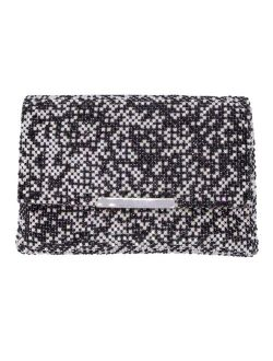 La Regale Midnight and White Opal Crystal Mix Envelope