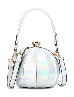 Style Strategy White Round Crossbody Bag