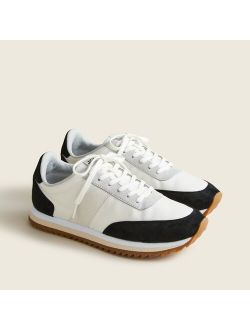 Nylon Lace Up trainers Shoes