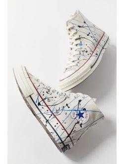 Chuck 70 Archive Paint Splatter High Top Sneaker