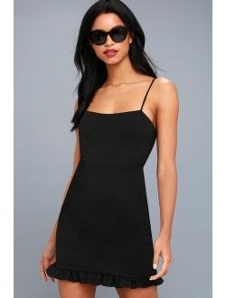 Spoonful of Sass Black Bodycon Mini Dress