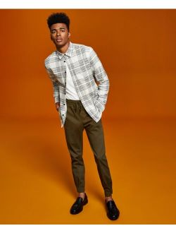 And Now This Men's Flannel Button-Up Shirt