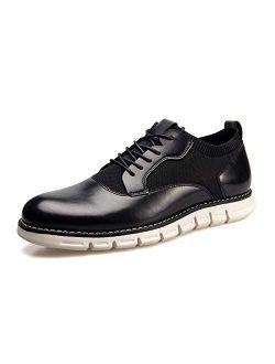Meijiana Men's Oxford Shoes Dress Shoes Men's Lightweight lace-up Fashion Shoes