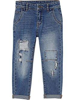Straight Fit Jeans (Toddler/Little Kids/Big Kids)