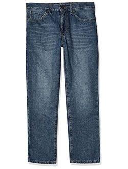 Boys Basic Straight Leg Jeans