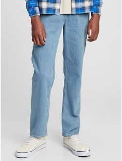 Teen Relaxed Tapered Vintage Jeans with Washwell™