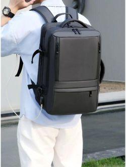 Men Minimalist Large Capacity Backpack
