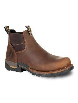 Georgia Boots Eagle One Men's Waterproof Steel Toe Chelsea Work Boots