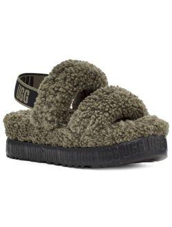 Oh Fluffita Slingback Slippers