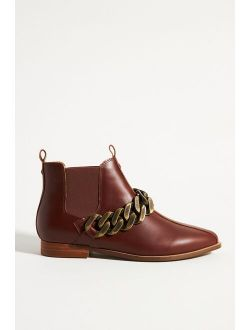 Kelsi Dagger Brooklyn Chain Link Ankle Boots