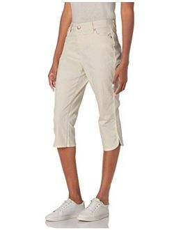 Bandolino Women's Mandie 5 Pocket High Rise Capri