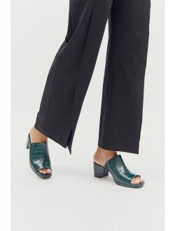 UO Cara Heeled Mule Sandal