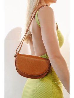 High Style Brown Crossbody Bag