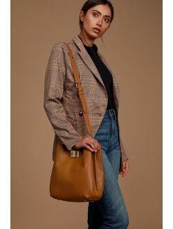 Chic Street Cognac Tote Bag