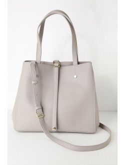 Back to Business Grey Tote