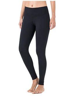 NAVISKIN Women's Fleece Lined Leggings Slimming Warm Thermal Tights Yoga Pants Inner Pocket