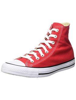 Chuck Taylor Hi Top Red Shoes M9621 Mens