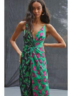 Delfi Floral Midi Dress