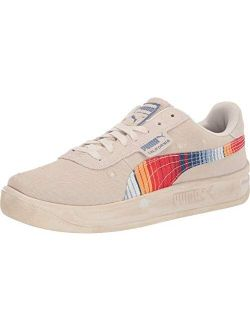 Mens California Vintage Lace Up Sneakers Shoes Casual - Beige