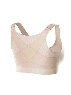 LELEBEAR Sora Bra for Older Women Front Closure, Posture Corrector Body Shaper Bra, Posture Corrector Bra for Front Closure