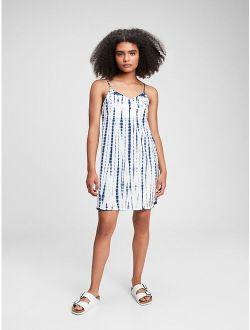 Teen 100% Organic Cotton Tie-Dye Cami Dress
