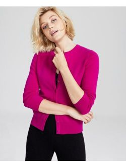 Charter Club Cashmere Button Cardigan, Created for Macy's