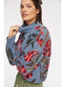 Cecilia Prado Blossom Mock Neck Sweater