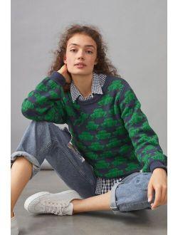 Field Flower Frog Sweater