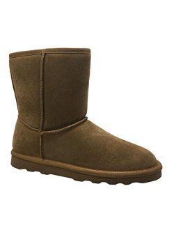 Tan Genuine Suede Boot