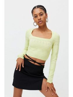 UO Siouxsie Square Neck Sweater