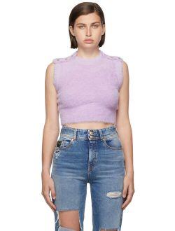 Purple Fuzzy Vest