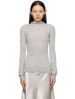 Max Mara Leisure Grey Mohair Oder Sweater