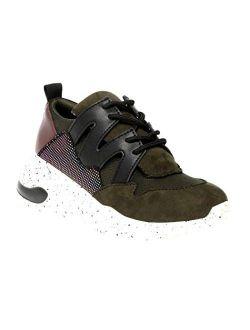 Women's Cliff Sneaker With Memory Foam Insole (olive)