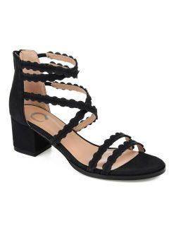 Journee Collection Jasiri Women's High Heel Sandals