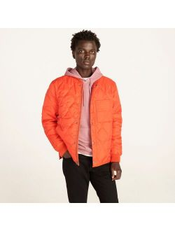 Quilted base jacket