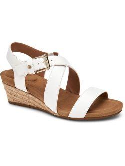 Giani Bernini Blythee Memory-Foam Wedge Sandals, Created for Macy's