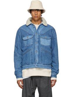 Isabel Marant Blue Jarepa Denim Jacket