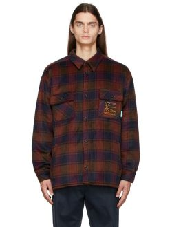 Rassvet Multicolor Check Sherpa-Lined Jacket