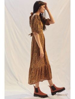 Faithfull Romilla Linen Maxi Dress