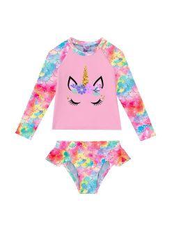Kids Girls Mermaid Costumes Swimwear Beachwear Outfit Girls Swimsuit Swimwear Swimming Outfit Summer Children Bathing Suits