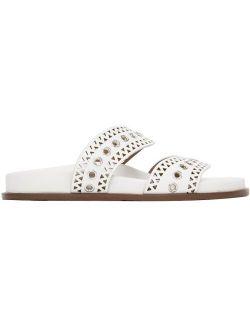 ALAÏA White Strap Sandals