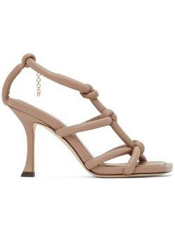 Jimmy Choo Pink Bay 90 Heeled Sandals
