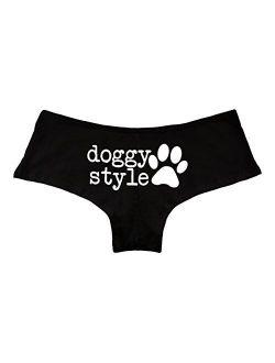 Doggy Style Paw Funny Women's Boyshort Underwear Panties