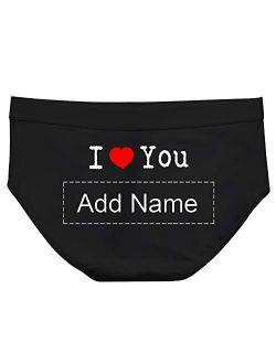 Personalized Lovers Girlfrend Gift - Custom Underwear Add Name - Mrs. Panties