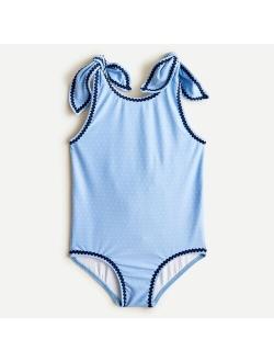Girls' Minnow™ knot one-piece swimsuit