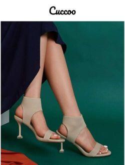 Cuccoo High Heeled Sandals